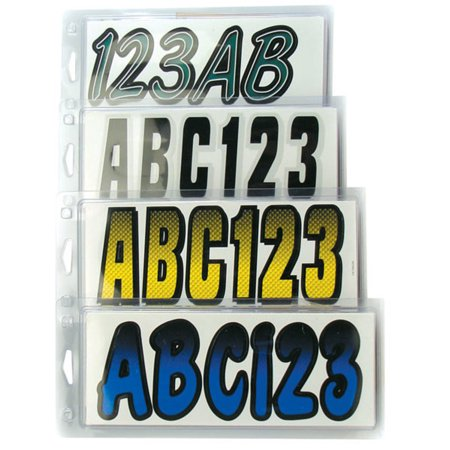 Hardline BLBKG200 Series 200 Premium Registration Kit - Gradation - Blue/Black