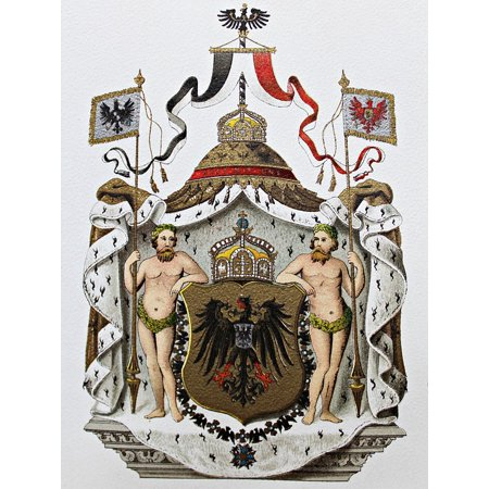 Canvas Print Imperial Coat Of Arms Heraldry Coat Of Arms Adler Stretched Canvas 10 x 14