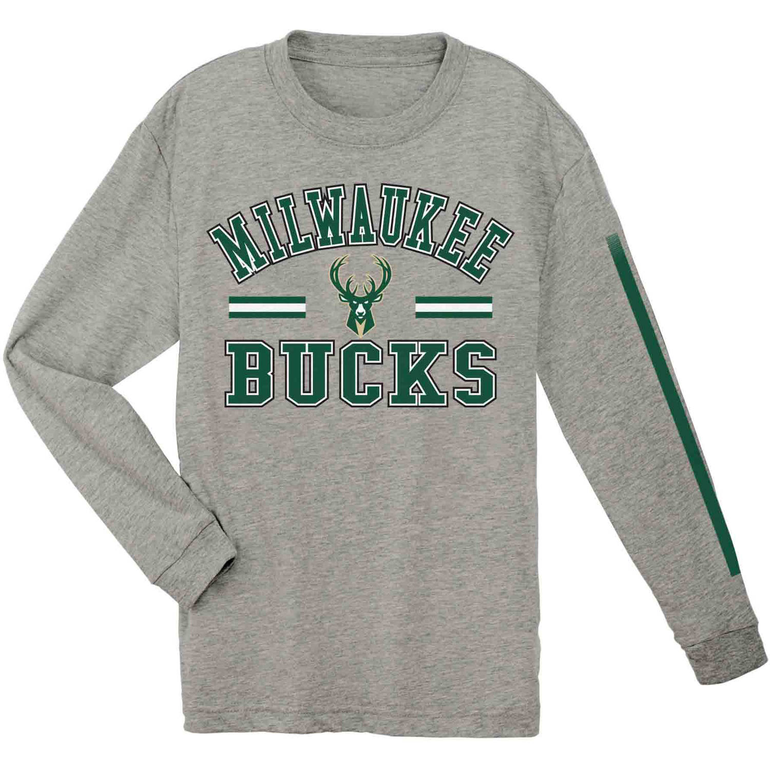 NBA Milwaukee Bucks Youth Team Long Sleeve Tee