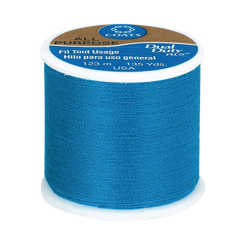 Coats & Clark All Purpose Thread, 135 yds, Radiant Blue