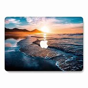 MacBook Air Case, AQYLQ Landscape Pattern Rubber Coated Plastic Protective Cover Hard Case for Apple Laptop MacBook Air 13 in