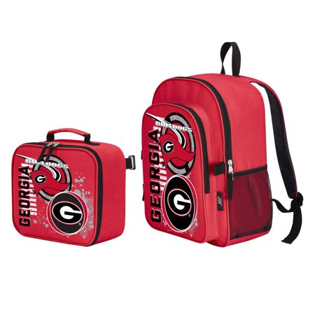 """Georgia Bulldogs """"Accelerator"""" Backpack and Lunch Kit Set"""