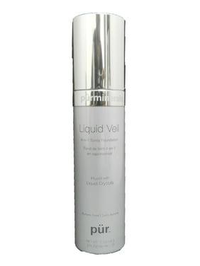 Pur Minerals Liquid Veil 4-In-1 Spray Foundation Tan 3 Ounce
