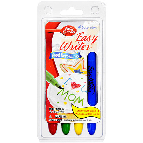 Betty Crocker Easy Writer Food Decorators, .15 oz