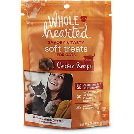WholeHearted Savory & Tasty Soft Cat Treats - Chicken Recipe, 3 OZ (pack of 1)](Tasty Treats For Halloween)