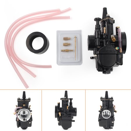 GZYF Black 30mm Carburetor Racing Part for Motorcycle OEM Replacement Carb PWK