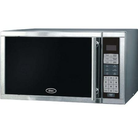 Oster 900 Watt Microwave Am980ss Stainless Steel