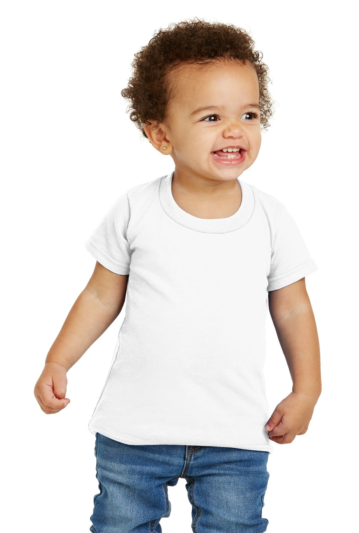 3bb73816 Gildan Activewear - Gildan Activewear Toddler Heavy Cotton T-Shirt. White.  5T. - Walmart.com