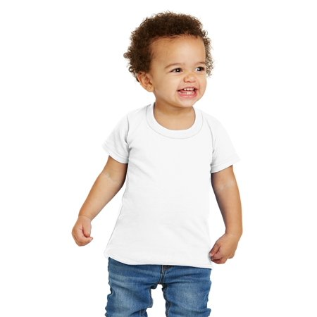 - Gildan Activewear Toddler Heavy Cotton T-Shirt. White. 5T.