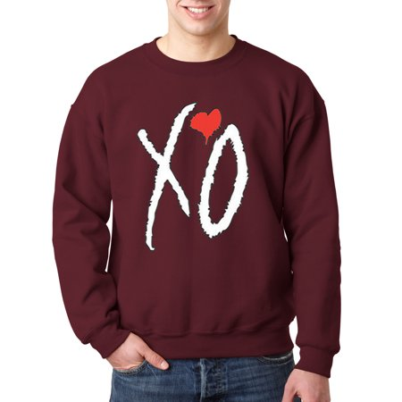 189 - Crewneck Xo The Weeknd Heart [White Letters] Sweatshirt