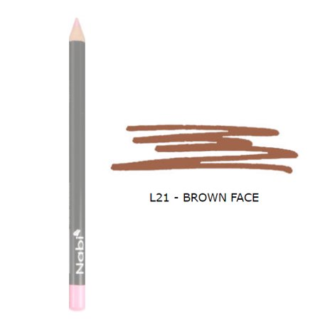 Nabi Cosmetics Lip Pencil - Brown Cafe