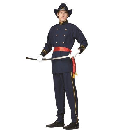 Union Officer Adult Costume - Union Officer Uniform