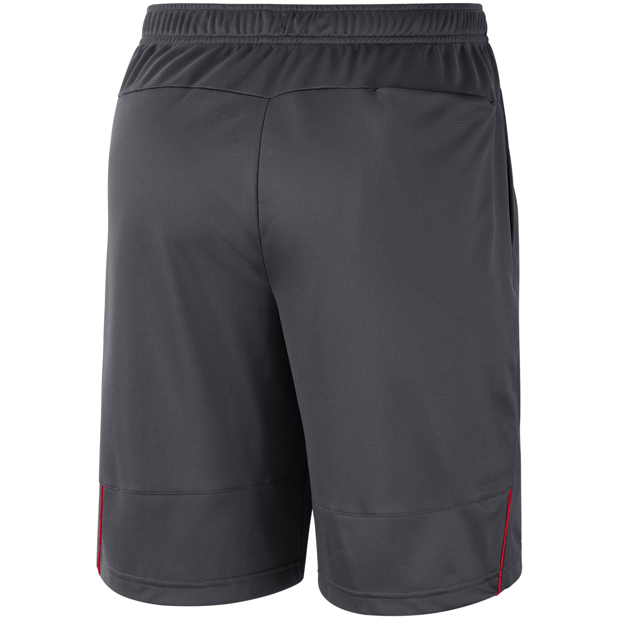5608646e Kansas City Chiefs Nike Sideline Coaches Performance Shorts - Charcoal