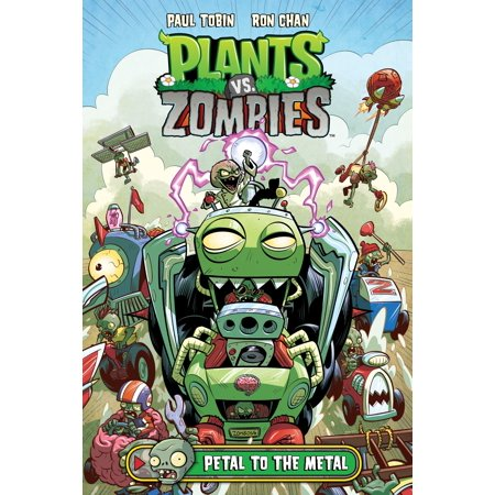 Plants vs. Zombies Volume 5: Petal to the Metal - eBook](Happy Halloween Plants Vs Zombies)
