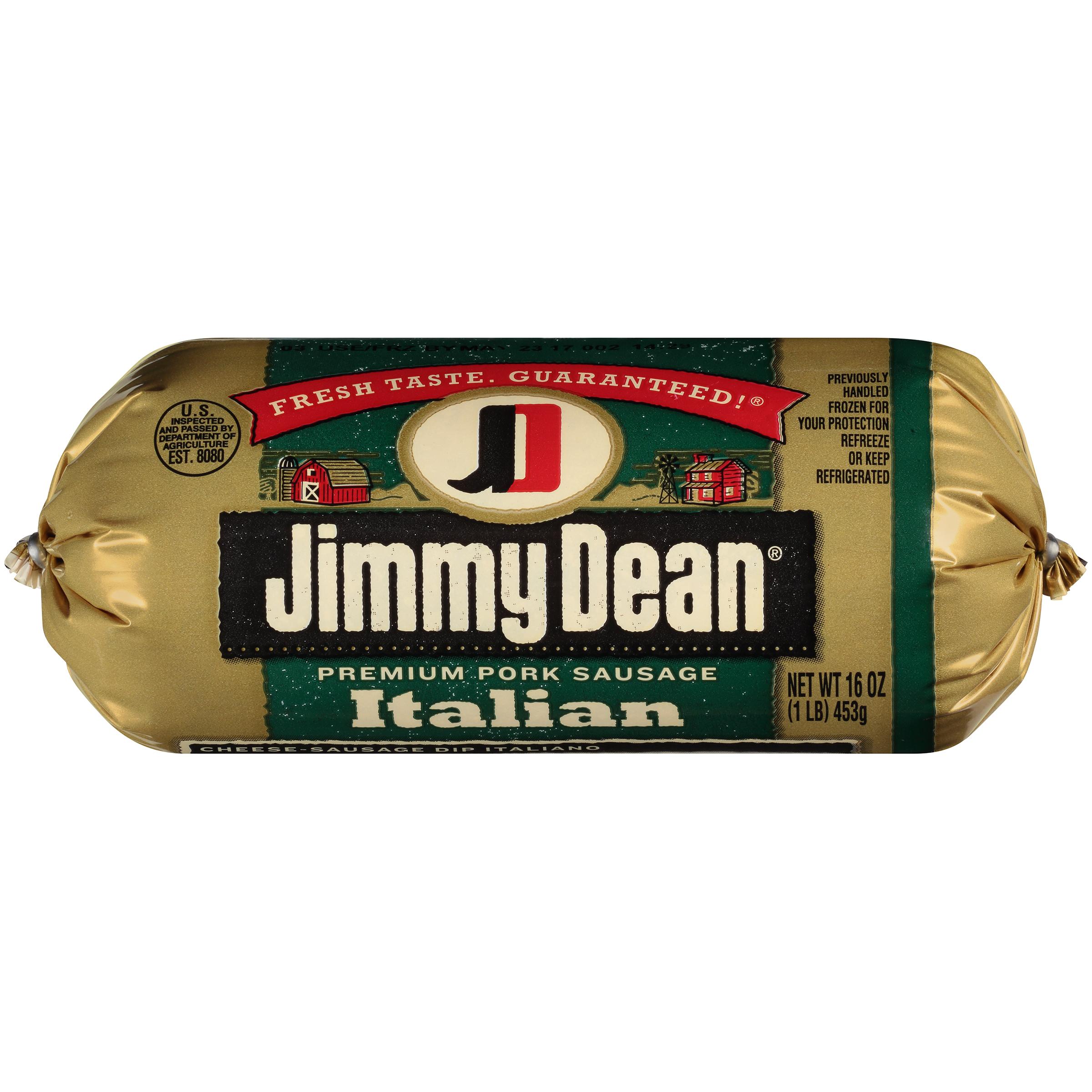 Jimmy Dean Italian Premium Pork Sausage, 16 oz