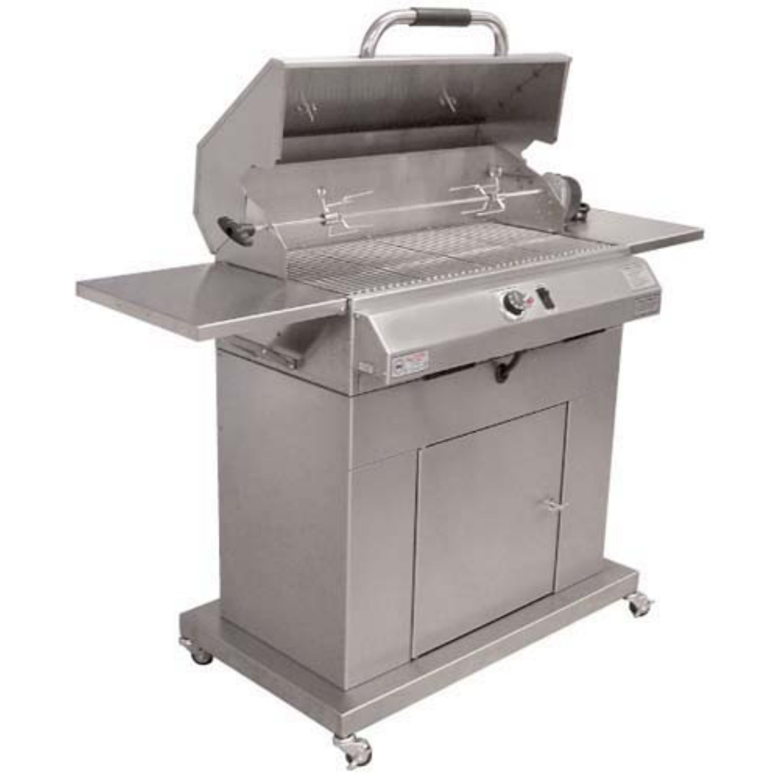 Electri-Chef 32 in. Electric Grill with Cart Single Burner by Electri - Chef Grill