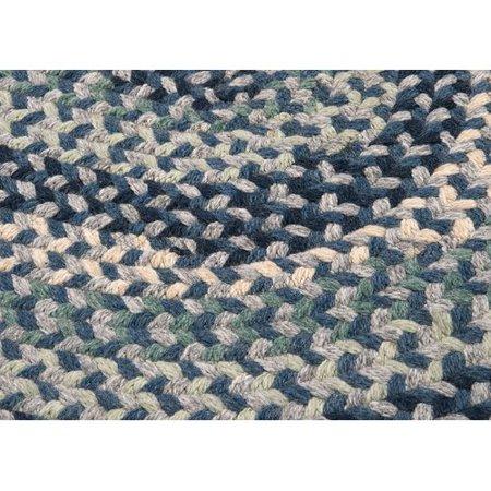 7e0750456885 Alcott Hill Lettie Capeside Wool Navy Light Blue Green Gray Cream Area Rug  - Walmart.com