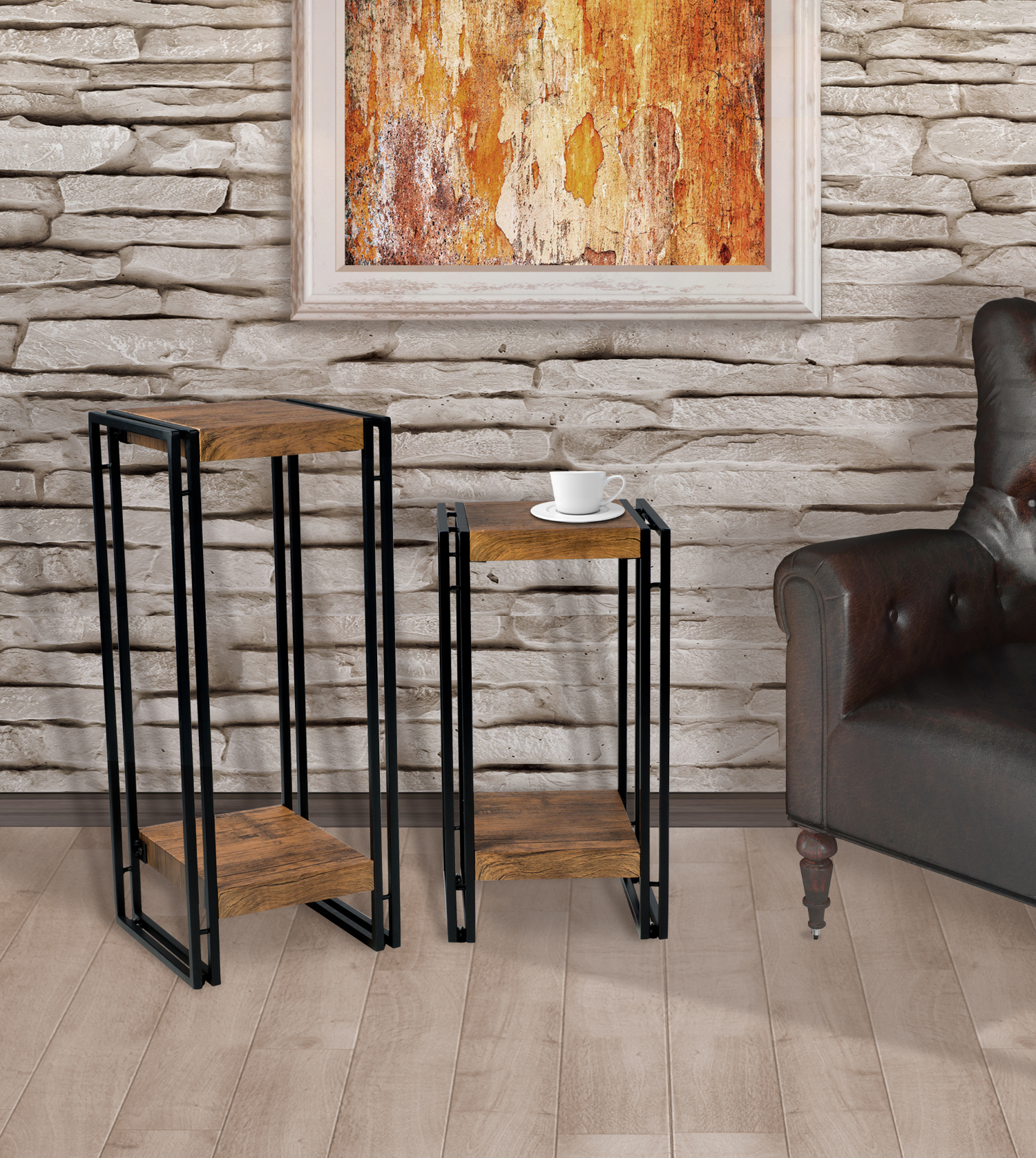 Mainstays Loft Accent Side-Table, Set