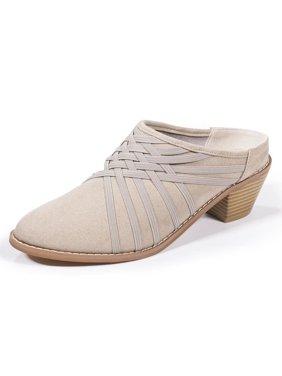 Zee Alexis Womens Melissa Clog Shoes Warm Grey 8 M