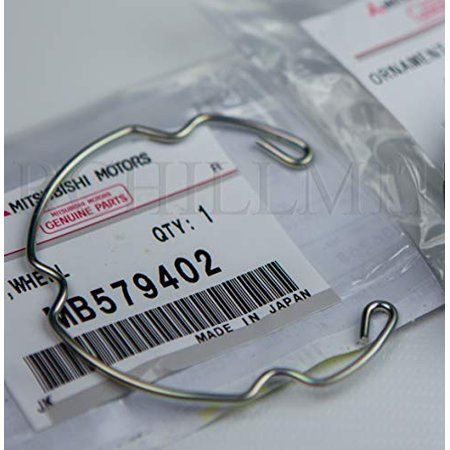 MITSUBISHI MB579402 GENUINE OEM FACTORY ORIGINAL CENTER CAP CLIP (cap not included, only the metal - Oem Genuine Photo