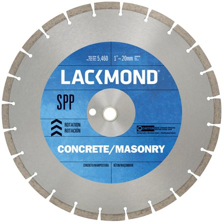 Lackmond 12-Inch High Speed Segmented Diamond Blade for Cured Concrete and (Concrete Blade)