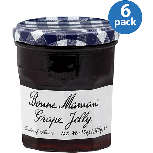 Bonne Maman Grape Jelly, 13 oz, (Pack of 6)