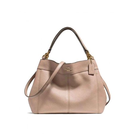227afa277dc1 Coach - NEW COACH (F23537) PINK SMALL LEXY PEBBLED LEATHER SHOULDER BAG  HANDBAG PURSE - Walmart.com