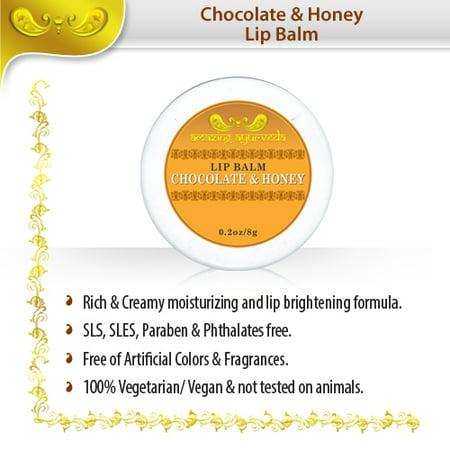 Luscious Lip Balm - Luscious Lip Balm Chocolate & Honey 0.2 Oz/8g