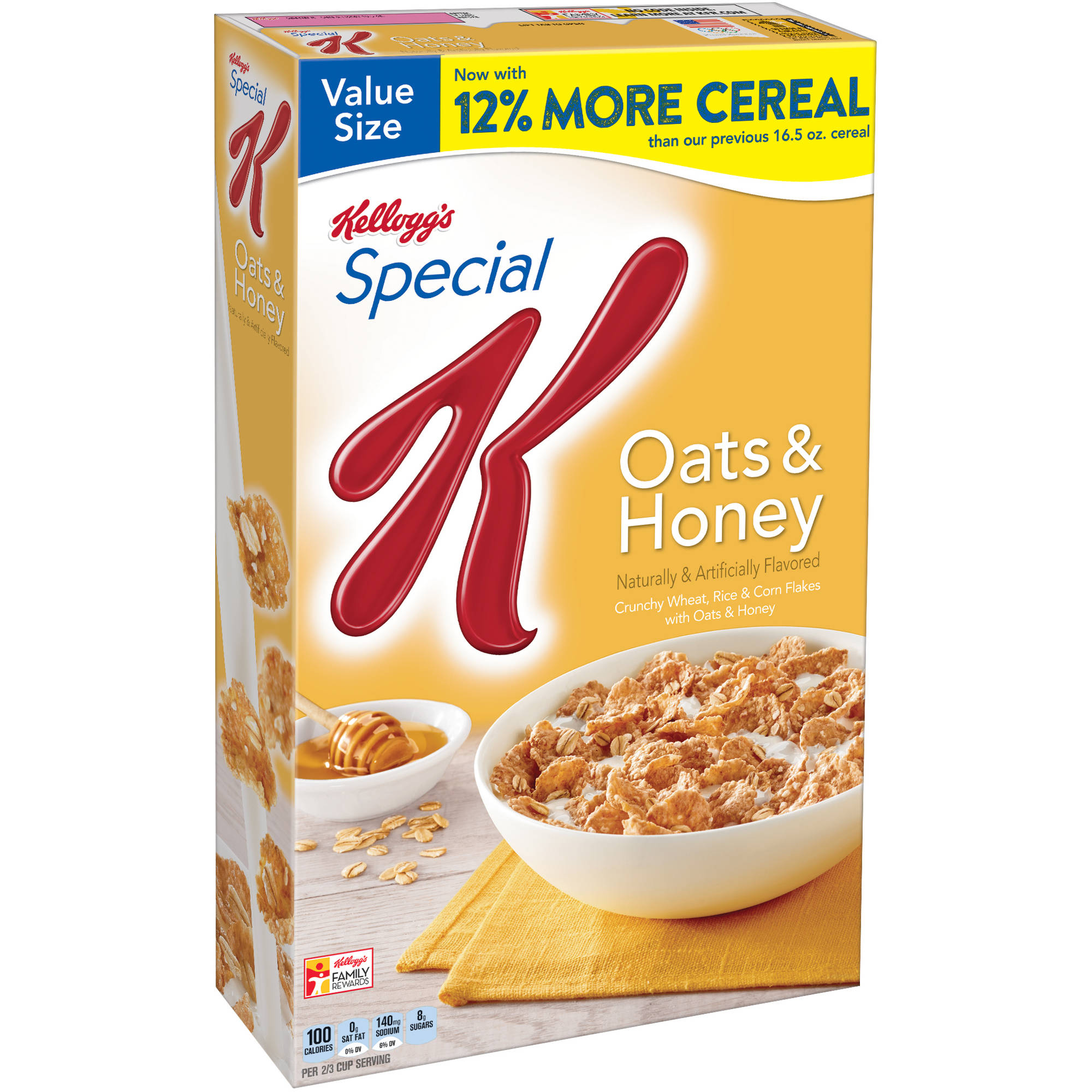 Kellogg's Special K Oats & Honey Cereal, 18.5 oz