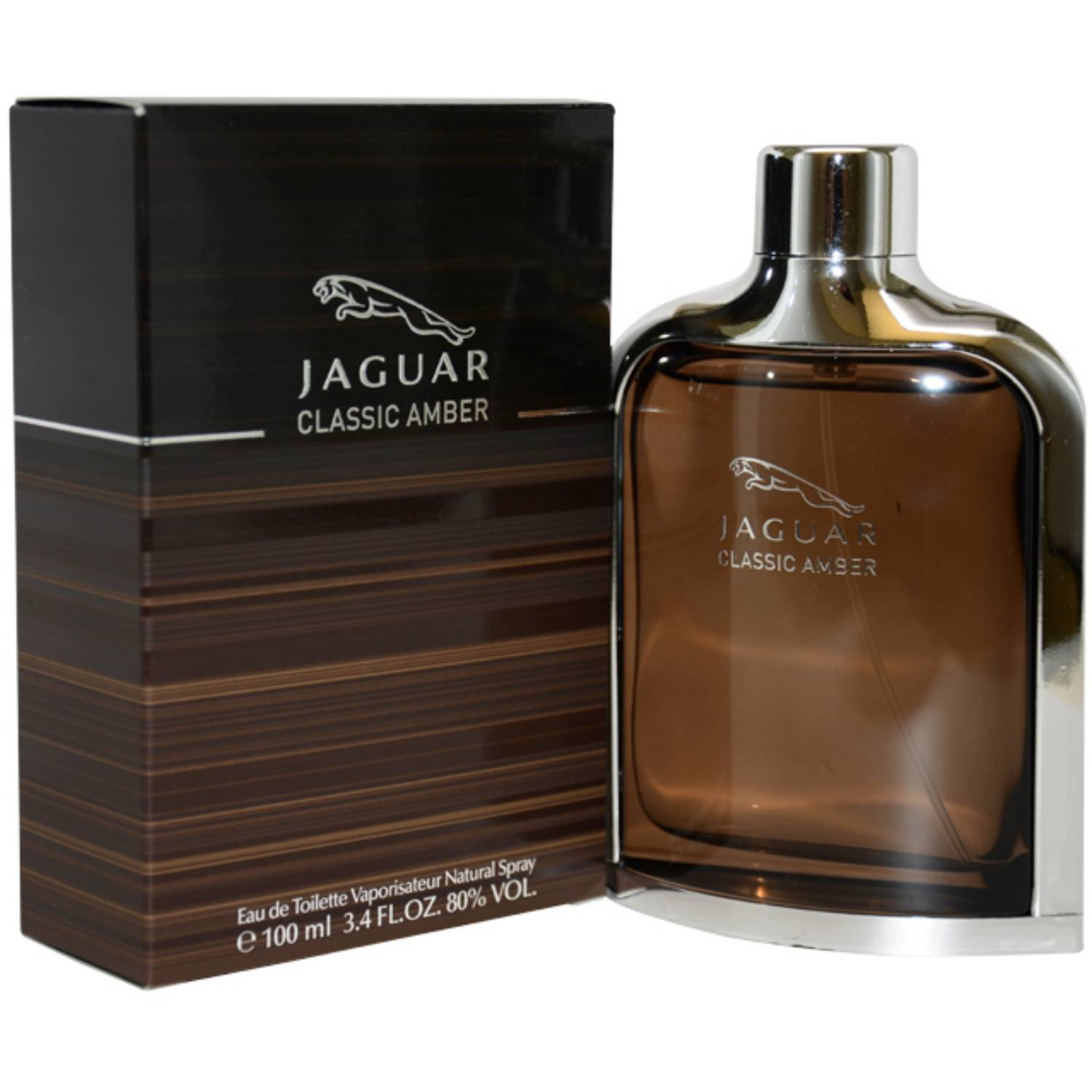 Jaguar Jaguar Classic Amber EDT Spray, 3.4 fl oz