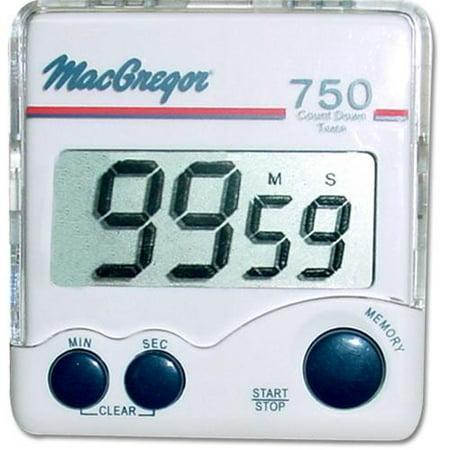 MacGregor Handheld Game Timer