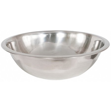 - Crestware 4 qt. Stainless Steel Mixing Bowl Silver  Stainless Steel  MB04