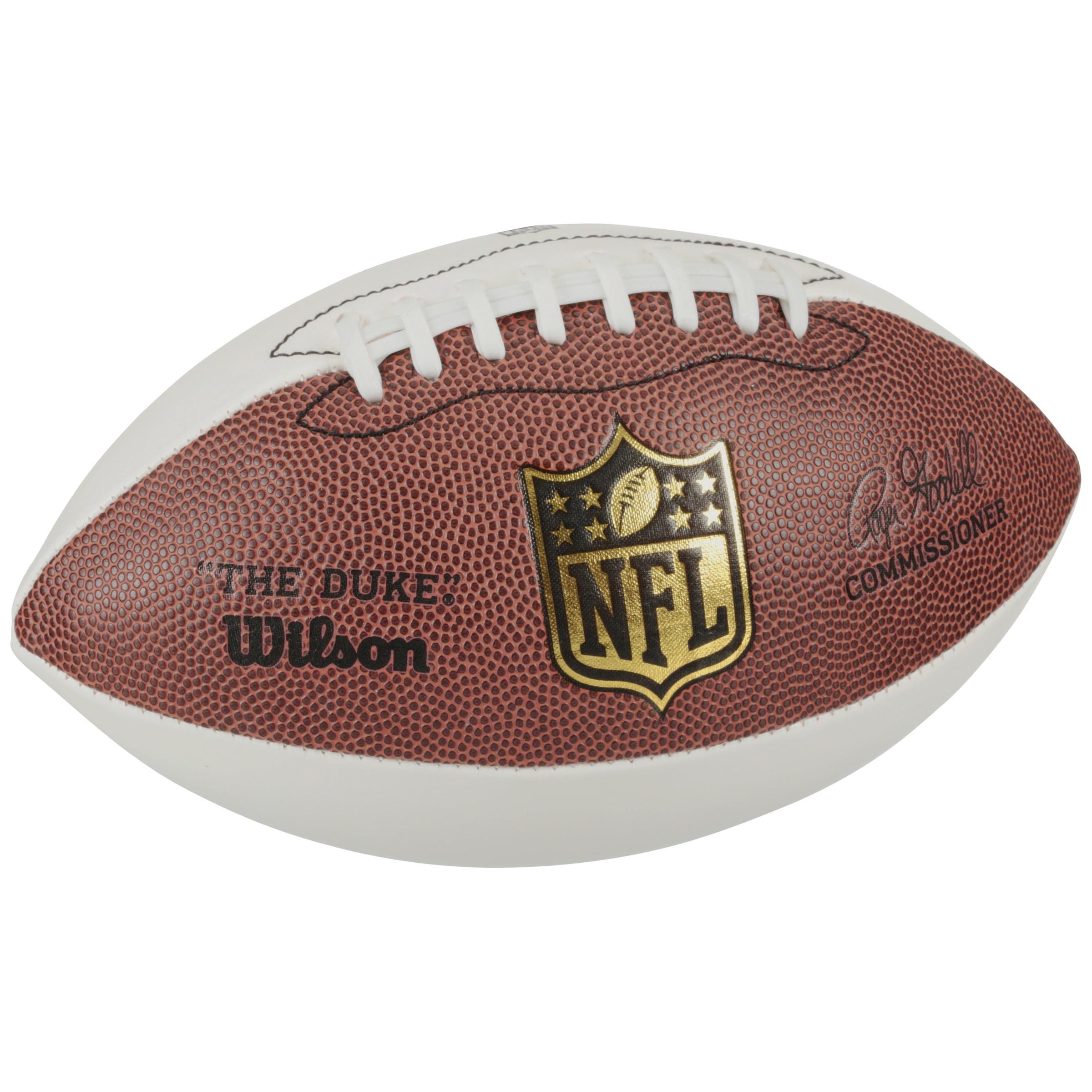 Wilson Official Nfl The Duke Autograph Leather Football Walmart Com