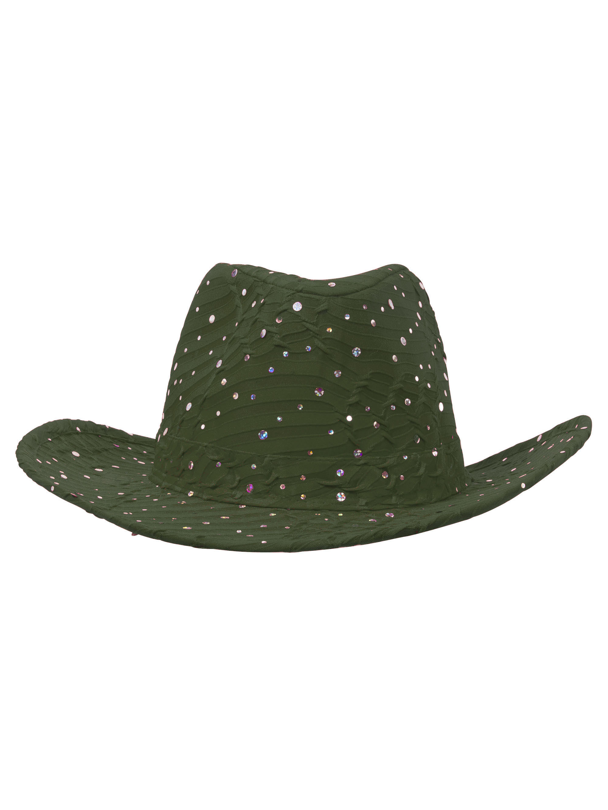 034418a70f2 Glitter Sequin Trim Cowboy Hat in 21 Assorted Colors - Orange