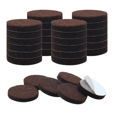 Chair Leg Pads (30pcs Felt Furniture Pads Round 3/4