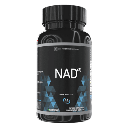 High Performance Nutrition Nad3 Nad+ Booster 30 Veg Caps ()