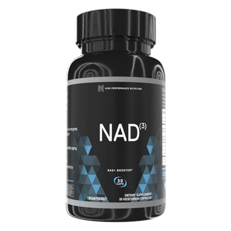 High Performance Nutrition Nad3 Nad+ Booster 30 Veg