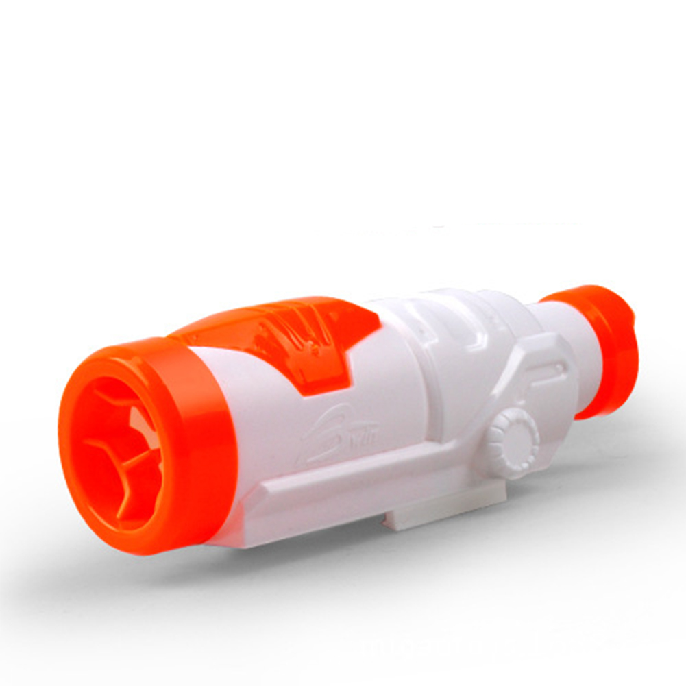 Modulus Targeting Scope Sight And Upgrade Muffler Accessory for Nerf Toys Gun Color:Orange by