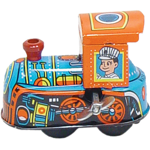 Alexander Taron Collectible Decorative Tin Toy Mini Locomotive