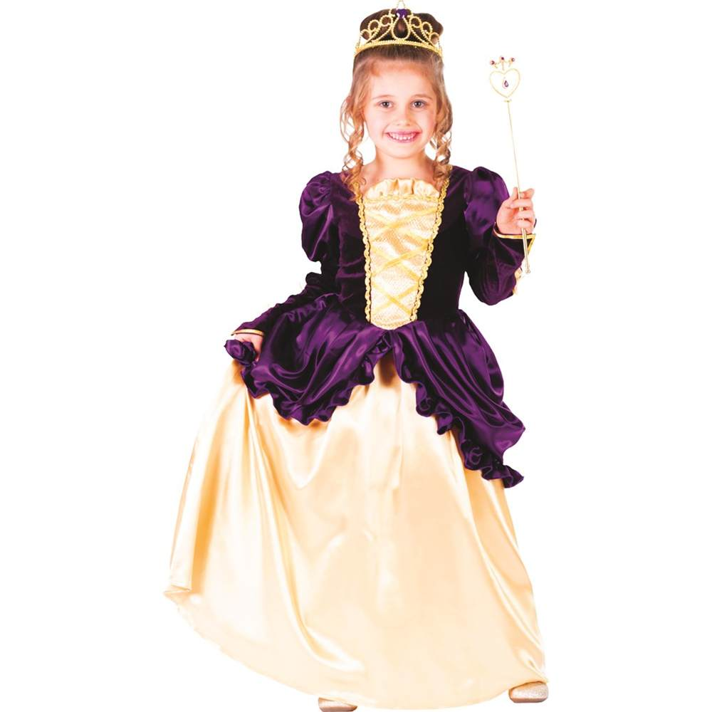 Purple Southern Belle Ball Gown Toddler Costume