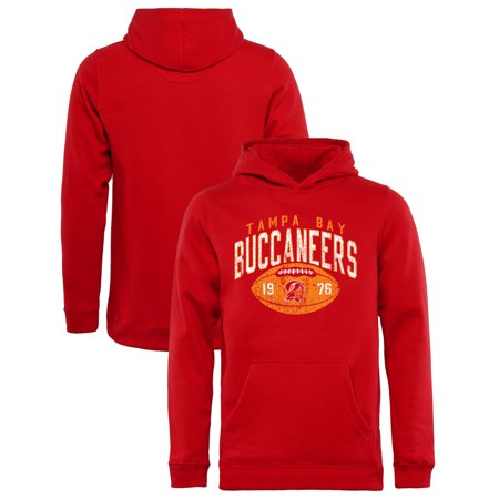 62dd80f9 Tampa Bay Buccaneers NFL Pro Line by Fanatics Branded Youth Throwback  Collection Coin Toss Pullover Hoodie - Red