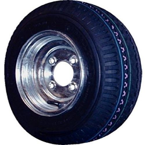 Americana AMW-30070 4.8-8 480-8 4.8 x 8 Trailer HD Tire Plus Rim LRC 5 Lug Wheel Galvanized
