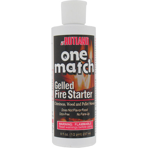 Rutland Products 8 Oz One Match Gelled Fire Starter (Model # 48)