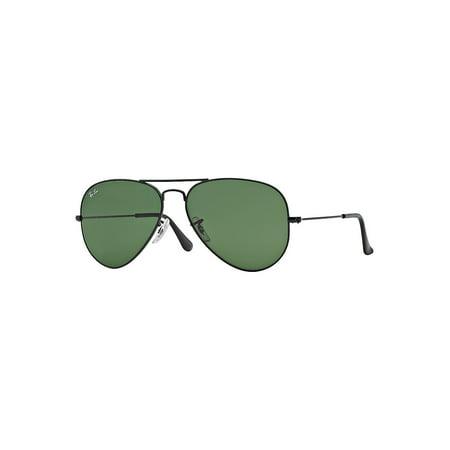 Ray-Ban Unisex RB3025 Classic Aviator Sunglasses, 58mm