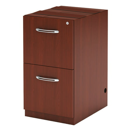 Mayline 2 Drawers Vertical Lockable Filing Cabinet, -