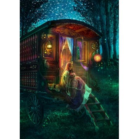 Gypsy Firefly Poster Print by Aimee Stewart