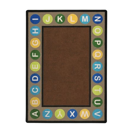 Joy Carpets Kid Essentials Early Childhood Alphabet Spots Rug 5