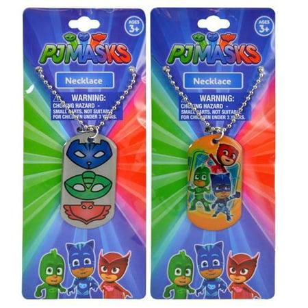 Party Favors Boys PJ Masks Dogtag Necklace 18