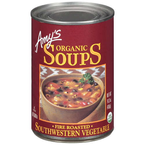 Amy's: Organic Fire Roasted Southwestern Vegetable Soup, 14.3 Oz
