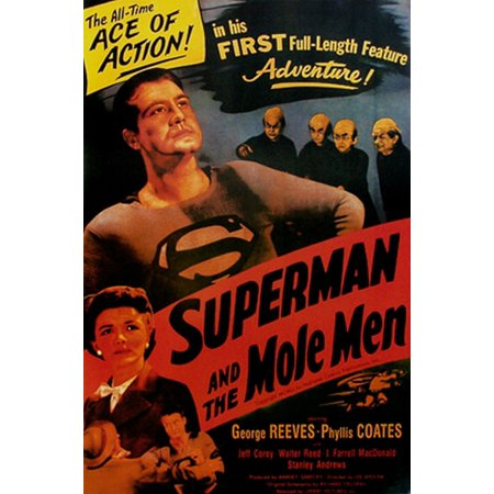 Superman and the Mole Men Poster Print (24 x 36)